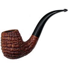 Michael Parks Sandblasted Bent Billiard (IV.16)