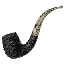 Michael Parks Sandblasted Bent Billiard (IV.17)