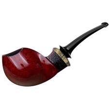 Michael Parks Smooth Blowfish with Buckeye Burl (VI.17)
