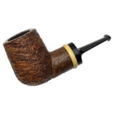 Ernie Markle Sandblasted Chubby Billiard with Boxwood