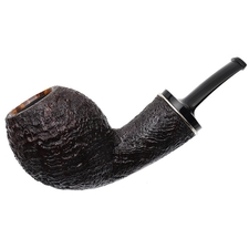 Ernie Markle Sandblasted Bent Egg with Silver