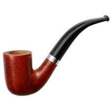 Sebastien Beo Light Smooth Bent Billiard with Silver