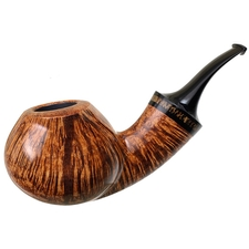 Grechukhin Smooth Twisted Bent Brandy with Black Palm (G)