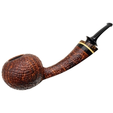 Grechukhin Sandblasted Long Shank Tomato with Black Palm and Boxwood
