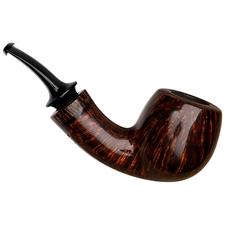 Grechukhin Smooth Bent Pot with Black Palm Wood