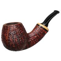 Grechukhin Sandblasted Bent Apple with Boxwood