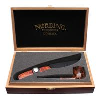 Nording Private Reserve Smooth Billiard Pipe & Knife Set (2008)