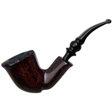 Nording Burgundy Grain Smooth Bent Dublin (3)
