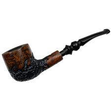 Nording Classic Partially Rusticated Bent Pot
