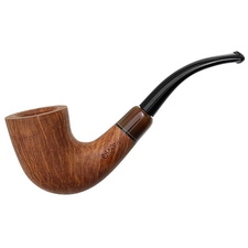 Chacom Hand Made Smooth Bent Dublin with Horn