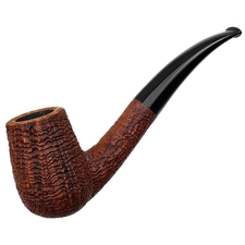 Bruce Weaver Sandblasted Bent Billiard