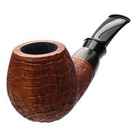 Pete Prevost Sandblasted Bent Brandy with Horn