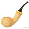 Gabriele Sandblasted Bent Apple with Boxwood (Turtle)