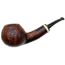 Gabriele Sandblasted Bent Apple with Masur Birch (Turtle)