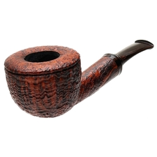 Gabriele Sandblasted Bent Pot (Turtle)