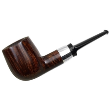 Chris Asteriou Smooth Chubby Billiard with Silver (57/16)