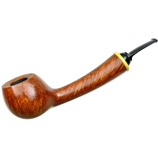 Wolfgang Becker Smooth Bent Apple with Boxwood (Double Wolf Paw)