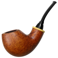 Wolfgang Becker Smooth Bent Egg with Boxwood (Signature) (03.16)