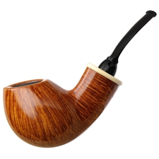 Wolfgang Becker Smooth Bent Egg with Mammoth (Signature) (0517)
