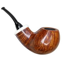 Wolfgang Becker Smooth Bent Egg with Mammoth (Signature) (0818)