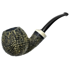 Werner Mummert Sandblasted Bent Apple with Antler