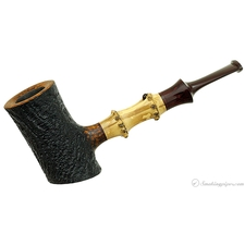 Geiger Sandblasted Poker with Bamboo