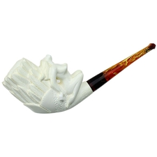 AKB Meerschaum Carved Naked Lady (with Case)