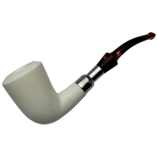 AKB Meerschaum Smooth Bent Dublin (Ali) (with Case)