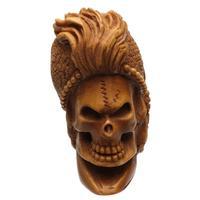 AKB Meerschaum Carved Fortune Teller Skull (Ali) (with Case)