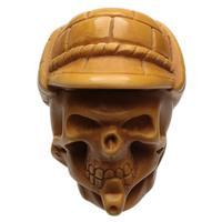 AKB Meerschaum Carved Sherlock Holmes Skull (Ali) (with Case)