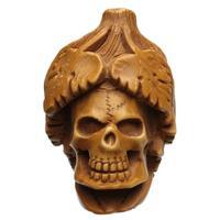 AKB Meerschaum Carved Bacchus Skull (Ali) (with Case)