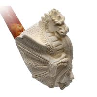 AKB Meerschaum Carved Dragon (with Case)