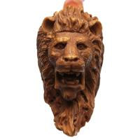 AKB Meerschaum Carved Lion (Karayhan) (with Case)