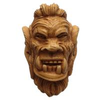 AKB Meerschaum Carved Ogre (Auay) (with Case)