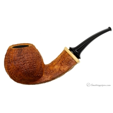 Sandblasted Bent Apple with Boxwood (Collaboration)