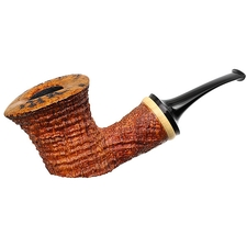 Nate King Sandblasted Bent Dublin Sitter with Boxwood (292)