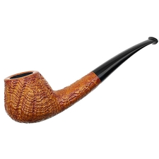 Nate King Sandblasted Bent Brandy (326)