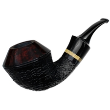 Lomma Partially Sandblasted Bent Bulldog with Beechwood