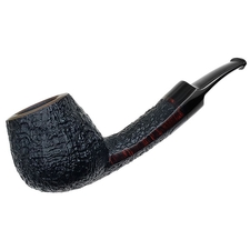 Lomma Partially Sandblasted Bent Brandy