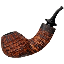 Konstantin Shekita Sandblasted Bent Brandy with Wenge