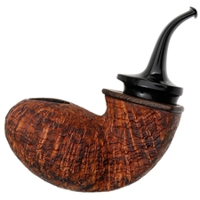 Konstantin Shekita Sandblasted Full Bent Tomato with Wenge