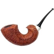 Abe Herbaugh Sandblasted Freehand Horn