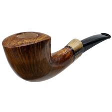 Scott Thile Smooth Bent Dublin with Black and White Ebony (FH) (383)
