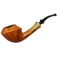 Tsuge Ikebana Smooth Rhodesian with Horn (J) (298)