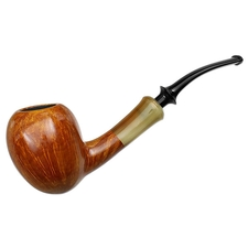 Tsuge Ikebana Smooth Bent Acorn with Horn (J) (280)