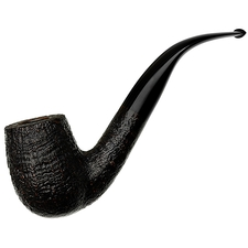 Tsuge Ikebana Sandblasted Bent Billiard (Ohi) (G) (022) (2018)