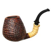 Doctor's Sandblasted Bent Brandy with Bamboo (699) (Double Flash)