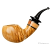 Daniel Mustran Smooth Olivewood Bent Apple with Jobillo