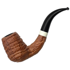 Martelo Sandblasted Bent Billiard with Mammoth Bone