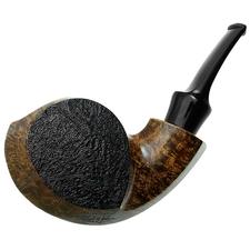 BriarWorks Signature Dark Partially Sandblasted Blowfish